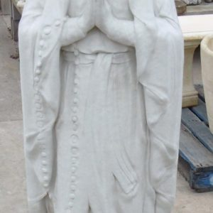 #5 - Mary of Lourdes - Large Concrete statue (white)