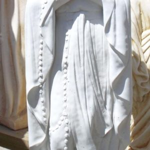 #6 Mary of Lourdes small concrete statue