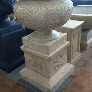 Renaissance Urn & Pedestal Set