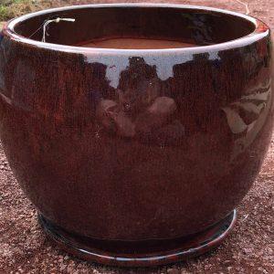 Caton Pot Glazed Garden Planter