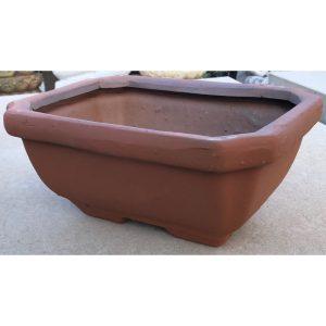 Deep Bonsai Pot Terracotta