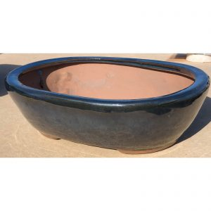 Oval Bonsai with Legs Pot
