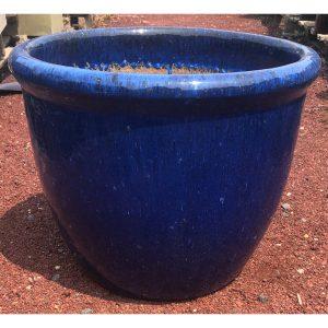 352 Egg Glazed Pot