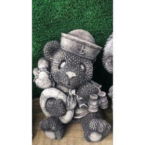 Binocular Bear Concrete Statues