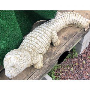 Crocodile Concrete Statue