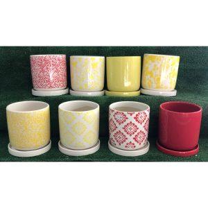 Ceramic Deco Cylinder Group Shot