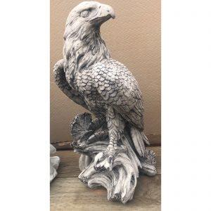 Eagle Left Concrete Statue