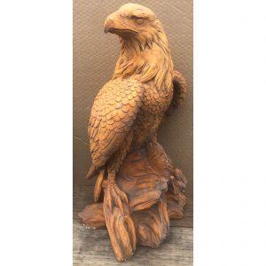 Eagle Right Concrete Statue