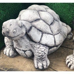 Happy Turtle Large Concrete Statue