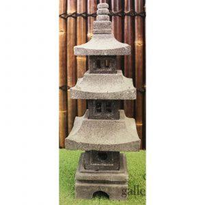 Lava Stone Lantern Medium